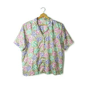 Lauren Lee vintage Union Made blouse